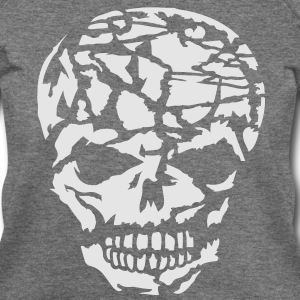 A broken skull T-Shirts - Women's Wideneck Sweatshirt