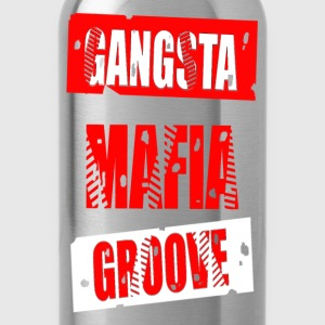 gangsta mafia groove Hoodies - Water Bottle