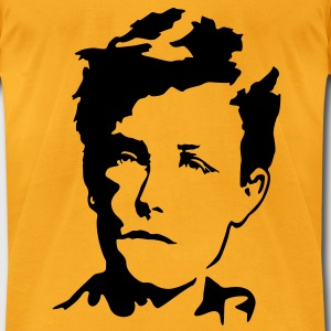 Arthur Rimbaud Bags  - Men's T-Shirt by American Apparel
