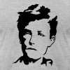 Arthur Rimbaud T-Shirts - Men's T-Shirt by American Apparel