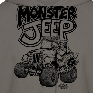 Monster Jeep - Men's Hoodie