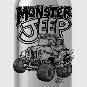 Monster Jeep - Water Bottle