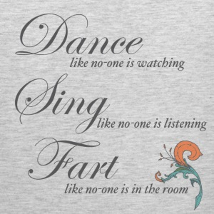 Dance Sing Fart - Men's Premium Tank