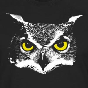 Owl Head T-Shirts - Men's Premium Long Sleeve T-Shirt