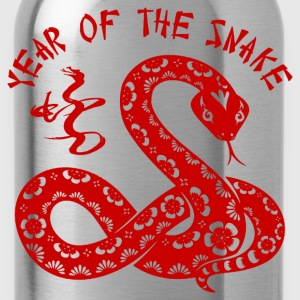 Year Of The Snake Sweatshirts - Water Bottle
