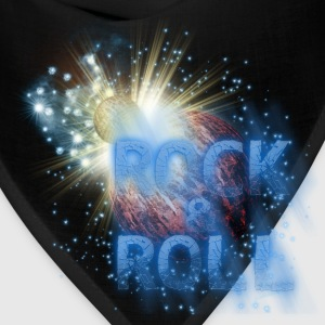 Rock  n Roll Planet Explosion Kids' Shirts - Bandana