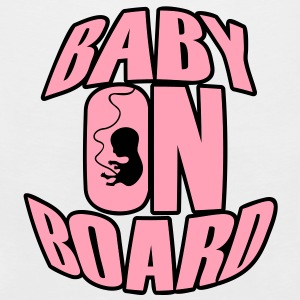 Baby on Board Women's T-Shirts - Men's Premium Tank