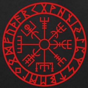 Vegvisir, Futhark, Runes, Navigator,  Long Sleeve Shirts - Eco-Friendly Cotton Tote