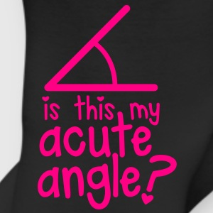 is this my ACUTE angle? cute maths nerds shirt Long Sleeve Shirts - Leggings