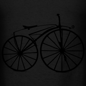 Retro Bike Bags  - Men's T-Shirt