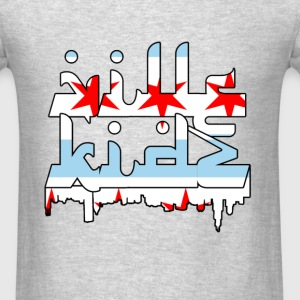 Chicago Flag Long Sleeve Shirts - Men's T-Shirt
