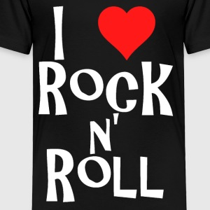 i love rock n' roll Kids' Shirts - Toddler Premium T-Shirt