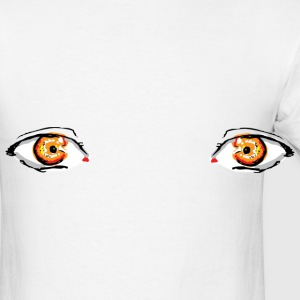 Marmalade Eyes Buttons - Men's T-Shirt