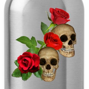 Skulls & Roses Hoodies - Water Bottle