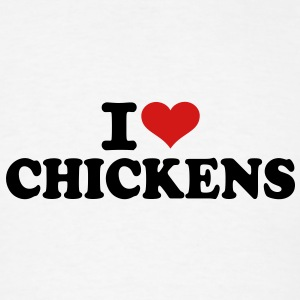 I love Chickens Accessories - Men's T-Shirt