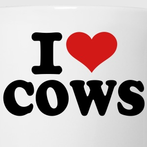 I love Cows Kids' Shirts - Coffee/Tea Mug