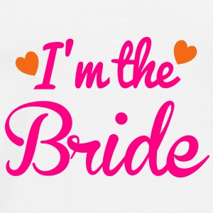 I'm the BRIDE wedding super cute hearts Other - Men's Premium T-Shirt