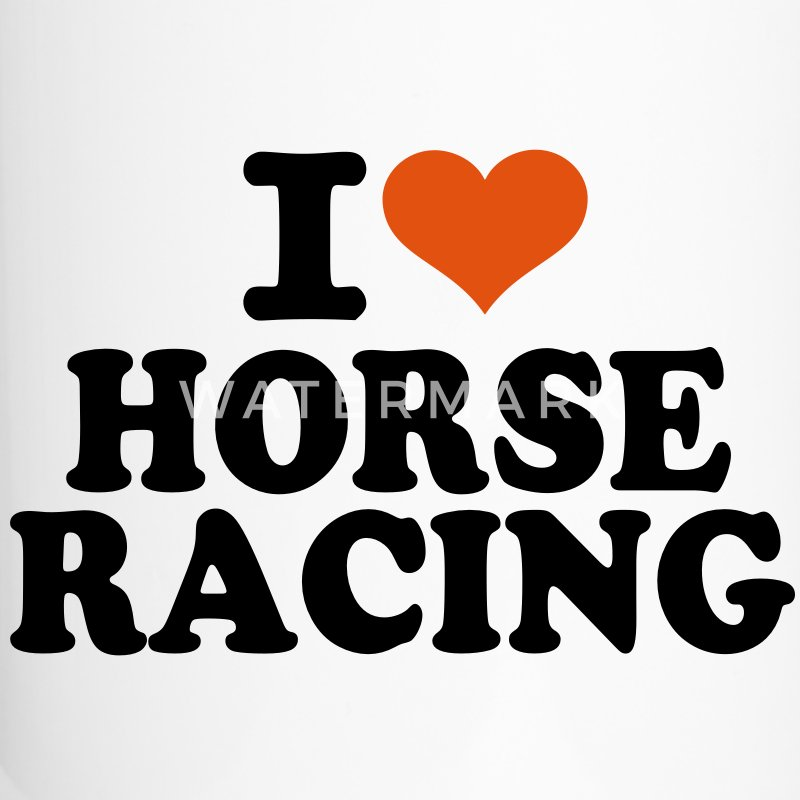 I love Horse Racing Accessories - Travel Mug