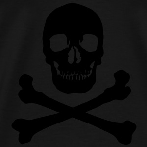 Pirate skull Bags  - Men's Premium T-Shirt