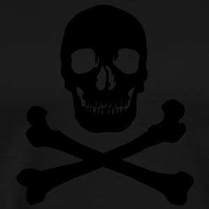 Pirate skull Hoodies - Men's Premium T-Shirt