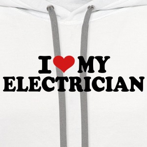 I love my Electrician Kids' Shirts - Contrast Hoodie