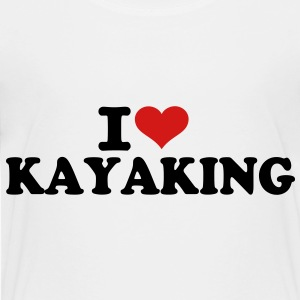 I love Kayaking Kids' Shirts - Toddler Premium T-Shirt