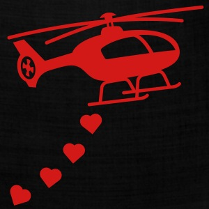 Army Helicopter Bombing Love Women's T-Shirts - Bandana