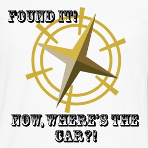 Where's The Car? - Men's Premium Long Sleeve T-Shirt