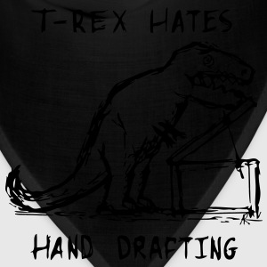 Architecture T-Rex Hates Hand Drafting T-Shirts - Bandana