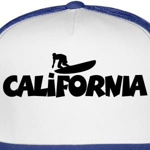 California Surf T-Shirt - Trucker Cap