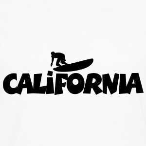 California Surf T-Shirt - Men's Premium Long Sleeve T-Shirt