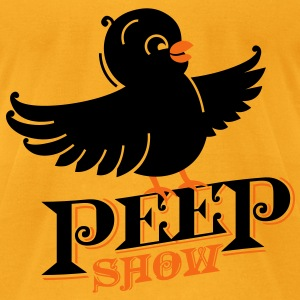 The Peep Show! Bags  - Men's T-Shirt by American Apparel