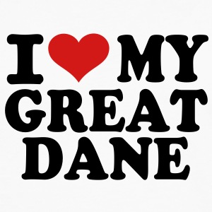 I love my Great Dane T-Shirts - Men's Premium Long Sleeve T-Shirt