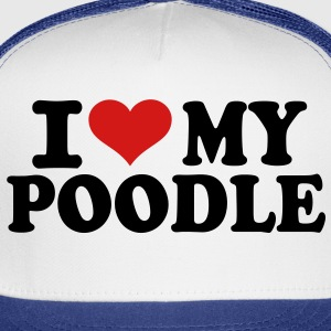 I love my Poodle Kids' Shirts - Trucker Cap