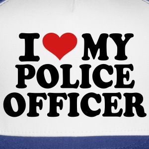I love my Police Officer T-Shirts - Trucker Cap