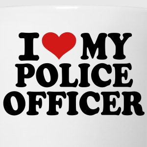 I love my Police Officer T-Shirts - Coffee/Tea Mug