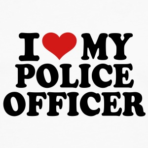 I love my Police Officer T-Shirts - Men's Premium Long Sleeve T-Shirt