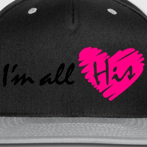I'm all His - Snap-back Baseball Cap