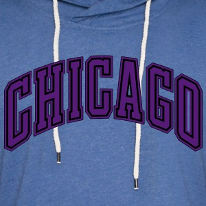 CHICAGO T-Shirts - Unisex Lightweight Terry Hoodie
