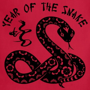 Year Of The Snake Hoodies - Adjustable Apron