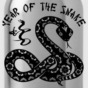 Year Of The Snake Hoodies - Water Bottle