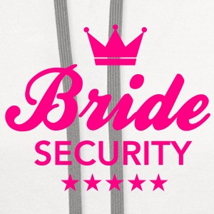 Bachelorette Party - Bride Security Tanks - Contrast Hoodie