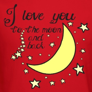 I love you to the moon and back kids t-shirt - Crewneck Sweatshirt