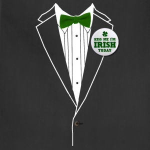 St. Patrick's Day Tux Hoodies - Adjustable Apron