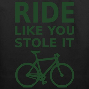 Ride Like You Stole It - Eco-Friendly Cotton Tote