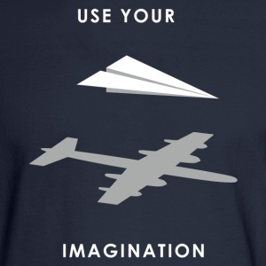 Use your imagination - Men's Long Sleeve T-Shirt