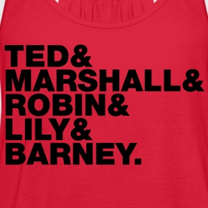 ted marshall robin lily barney - Women's Flowy Tank Top by Bella