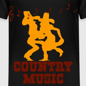 country music Kids' Shirts - Toddler Premium T-Shirt