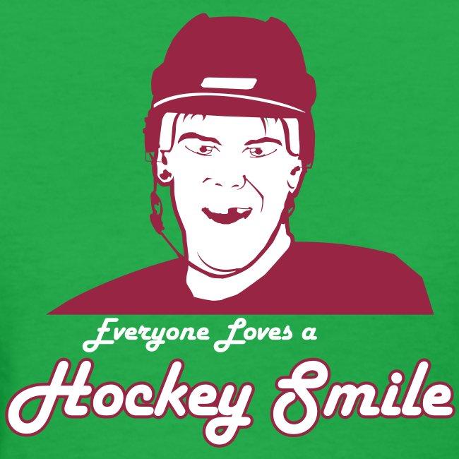 Everyone Loves A Hockey Smile - Mens
