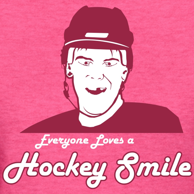 Everyone Loves A Hockey Smile - Mens